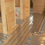 Теплый пол с водяным контуром