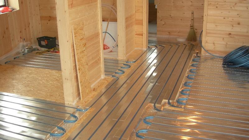 Теплый деревянный пол в доКак сделать своими