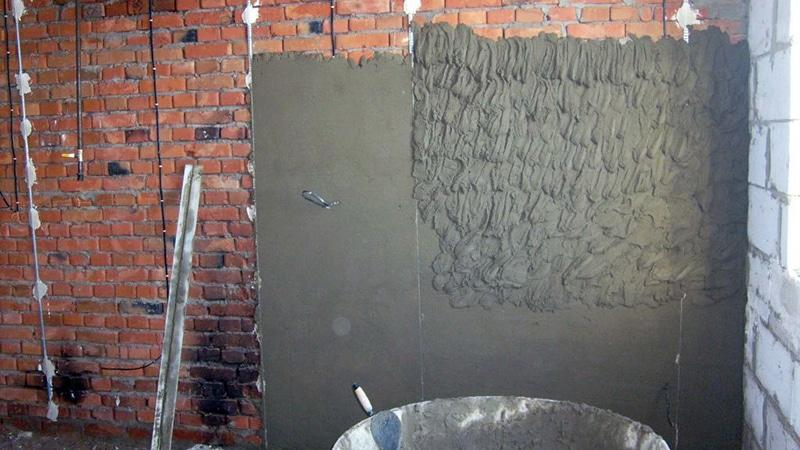 Составы для выравнивания стен