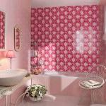 Декор в ванную комнату