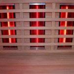 Инфракрасные обогреватели в душевой кабине с сауной