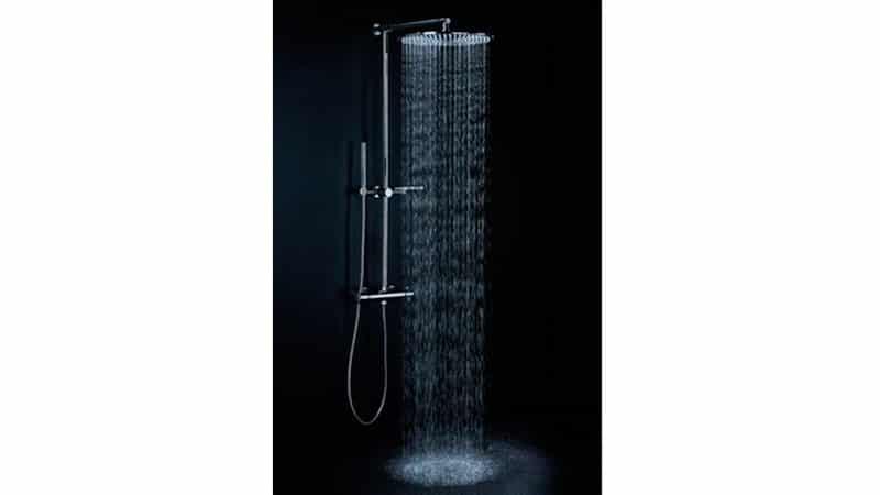Душевая стойка с верхним душем