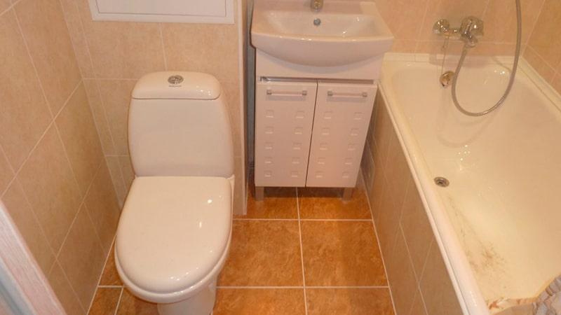 Ремонт в ванной и туалете фото своими руками