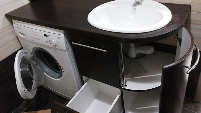 Дизайн мебели санузла в панельном доме