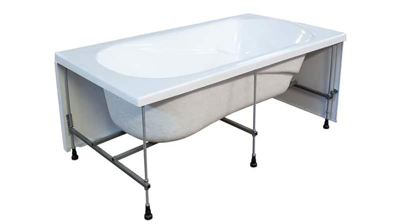 Как установить ванну на плитку своими руками 194
