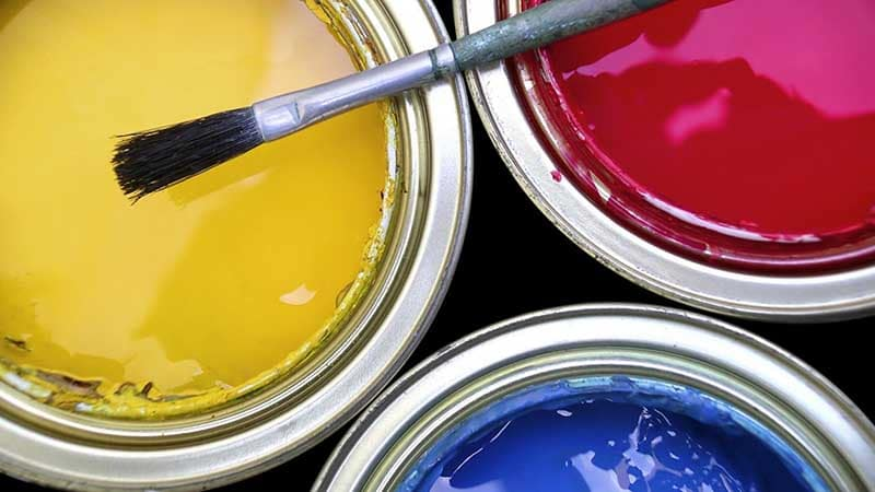 Краска для стен ванной комнаты