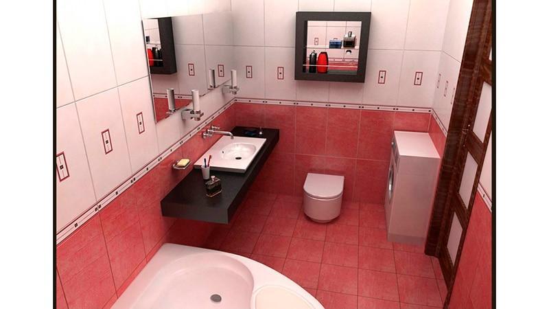 Интерьеры малогабаритных ванных комнат фото