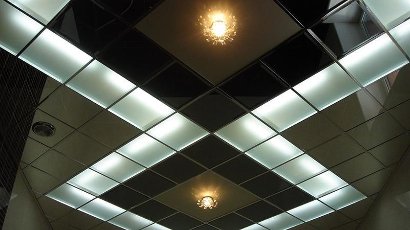 Модульные системы потолков в ванной