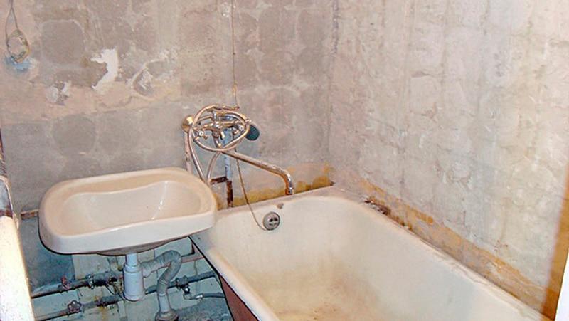 Как сделать ванну ремонт