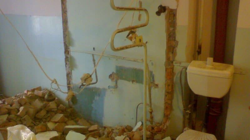 Ремонт маленькой ванной комнаты