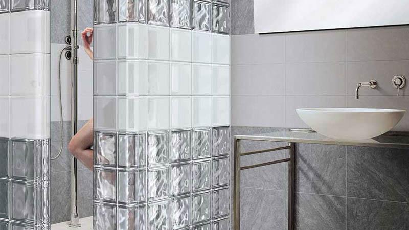 Дизайн перегородки для ванной