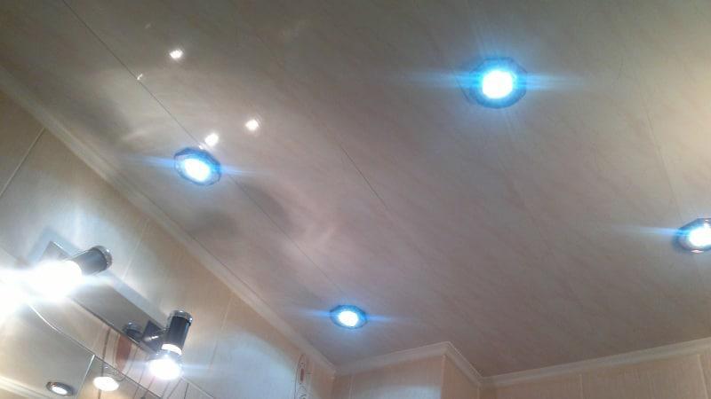 Светодиодные врезные светильники