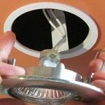 Монтаж светильника в подвесной потолок