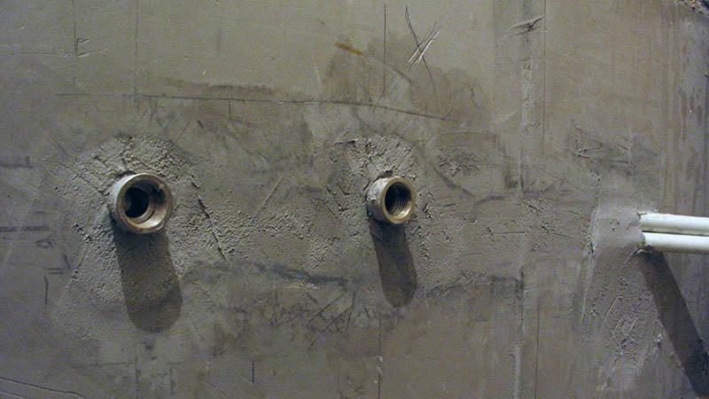 Демонтаж старого полотенцесушителя