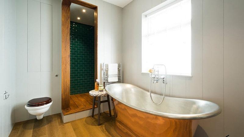 Дизайн ванной в гламурном стиле