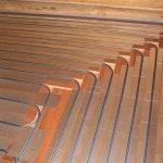 Укладка теплого пола в деревянном доме