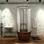Профессиональный дизайн ванной в стиле лофт