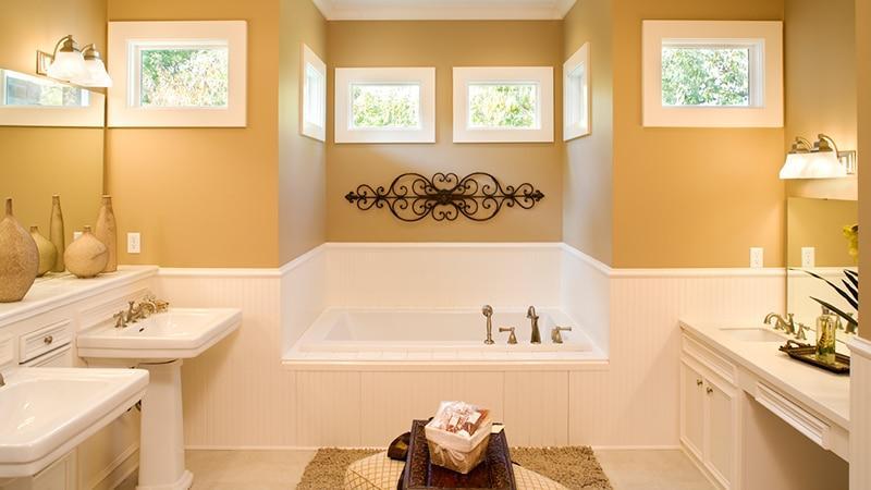 Ванные комнаты в частном доме