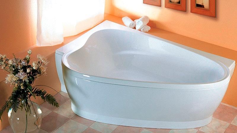 Виды и размеры ванн
