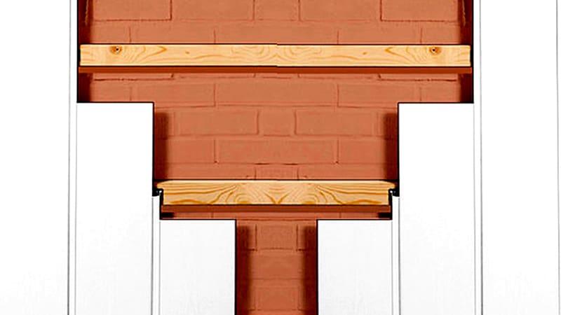 Монтаж стеновых панелей на каркас