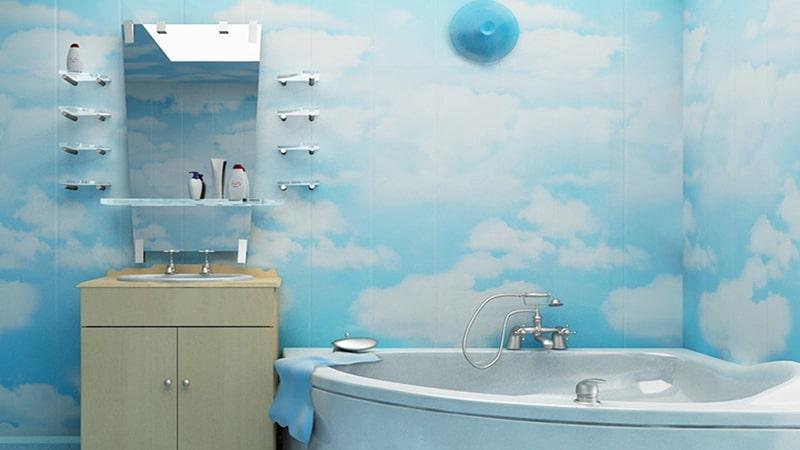 Влагостойкие пластиковые панели для ванных