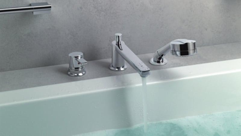 Скрытый смеситель для ванны