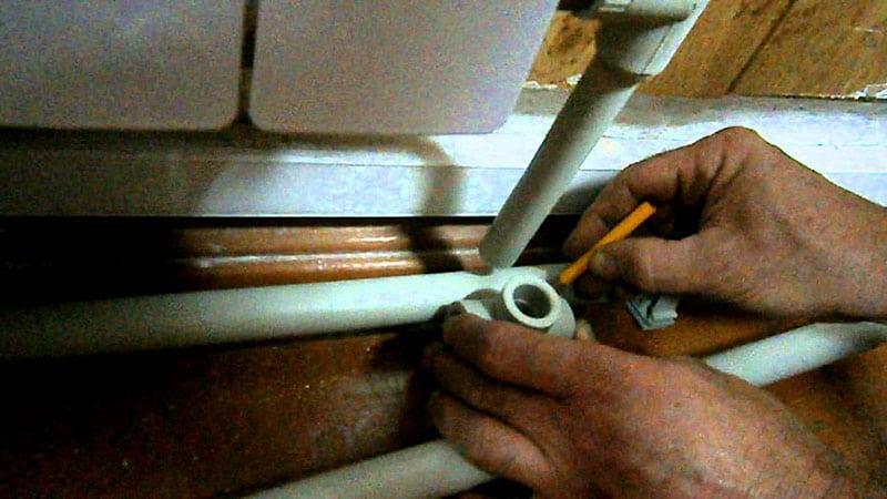 Трубы для встраиваемого смесителя