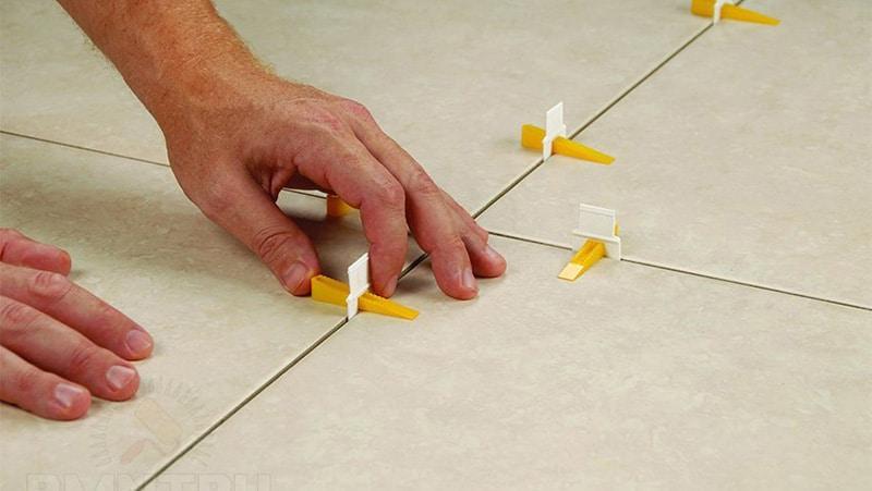 Типы конструкций крестиков для плитки