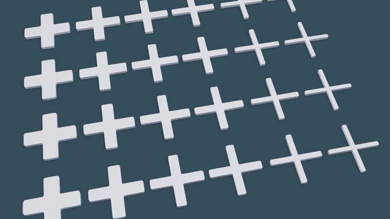 Как выбрать крестики для плитки