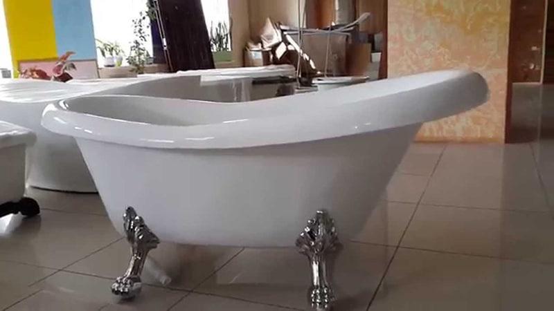 Квариловые ванны для больших санузлов