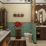 Элементы декора ванной комнаты в классическом стиле
