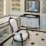 Мебель классическая для ванной