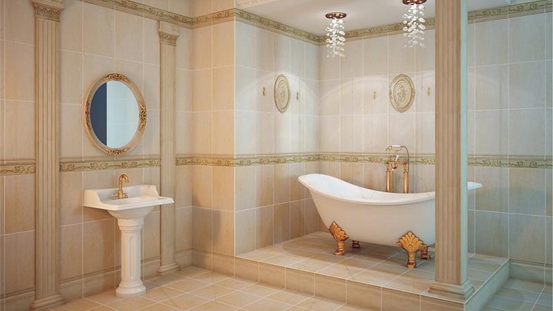 Классика в обустройстве ванной