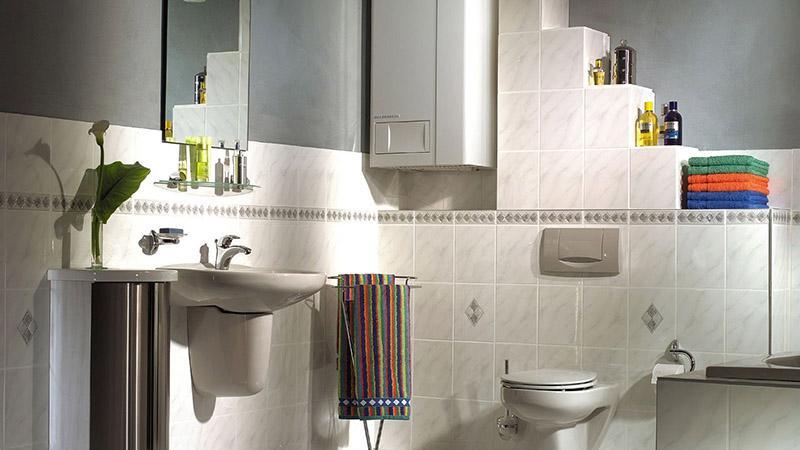 Установка газового котла в ванной