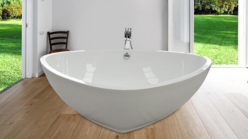 Вместительность акриловых моделей ванн