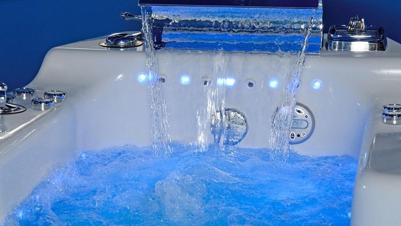 Расход воды во время приема ванны