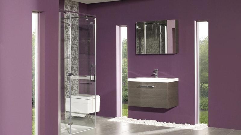 Варианты размещения подвесных шкафов в ванной