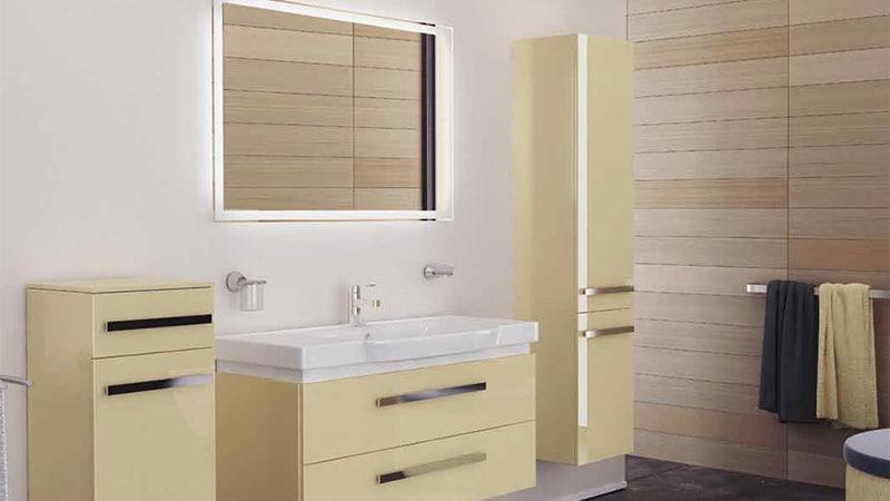Подвесная мебель для ванной комнаты италия