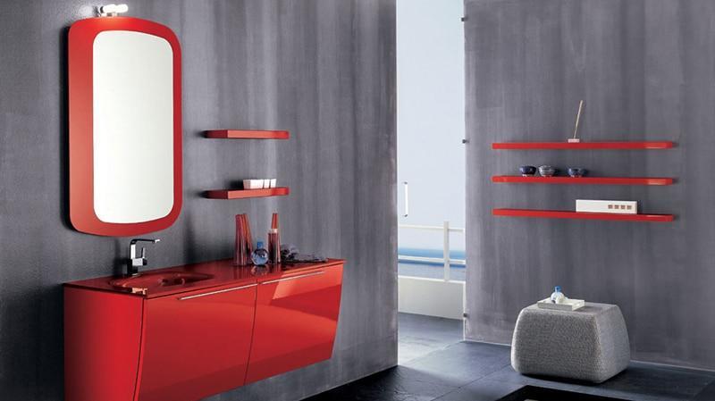 Итальянские модели мебели для санузла