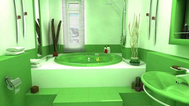 Модель ванной комнаты