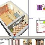 3д дизайн ванной комнаты