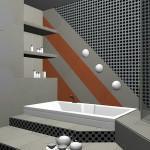 3d интерьер для ванных