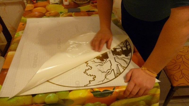 Технология нанесения виниловых стикеров