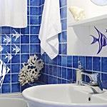Наклейки на плитку в ванной фото