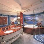 Декор большой ванной комнаты