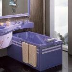 Цветная сантехника в ванную
