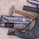 Инструменты для дачной душевой кабины