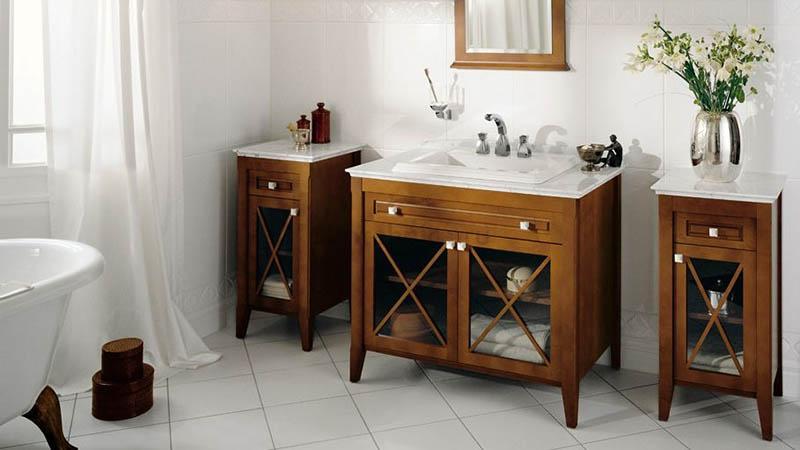 Стильный гарнитур для ванной