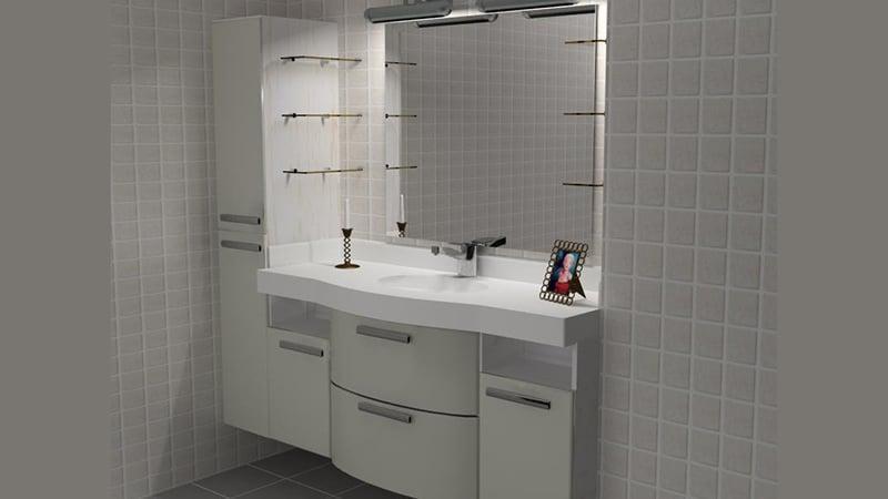 Стандартный гарнитур для ванной