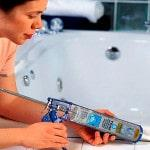 Герметик для плитки в ванную